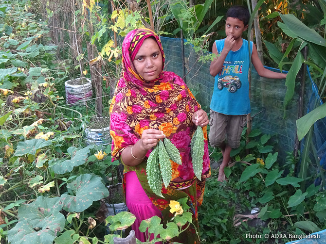 Climate-Smart Agriculture (CSA) Helps Reducing Poverty in the Rural Areas of Bangladesh
