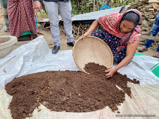 Vermicompost Gains Popularity in Bangladesh