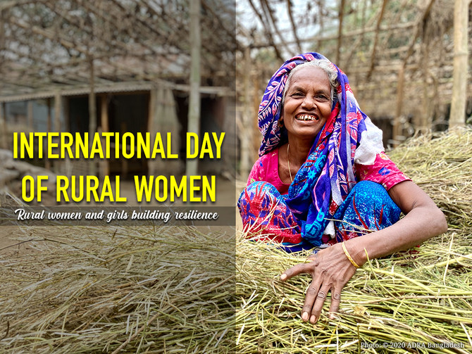 International Day of Rural Women 2020