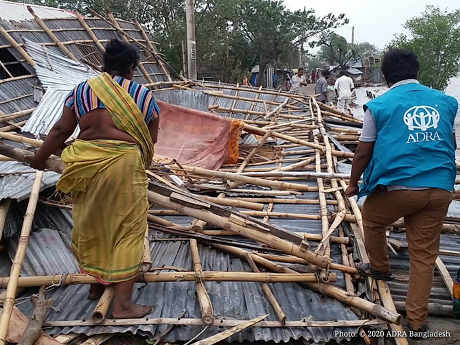 ADRA Responds After Cyclone Amphan Wreaks Havoc in Bangladesh