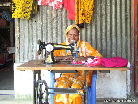 Poly with her sewing machine.jpg
