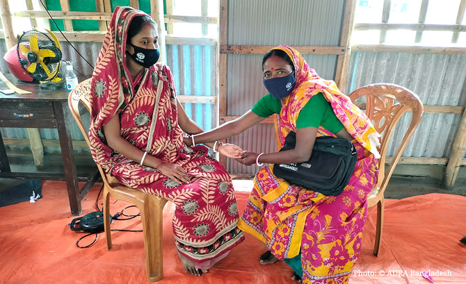 Rina Helps to Rescue Lives of Pregnant Mother in the Rural Areas of Bangladesh