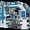 Thumbnail: UZ-6100 : Presse flexo 6 couleurs, laize 1000mm