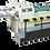 Thumbnail: DG-KGE1400E : Débobineuse coupeuse auto, lame rotative, laize 1400mm