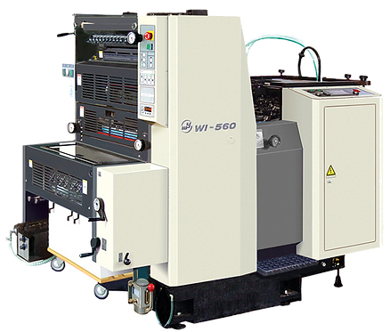 WI-OJX-560 : Presse offset Mono 56x39.5, mouillage standard