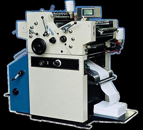 """WI-OJX180-2 : Presse offset 2 couleurs pour papier en listing, laize 18"""""""