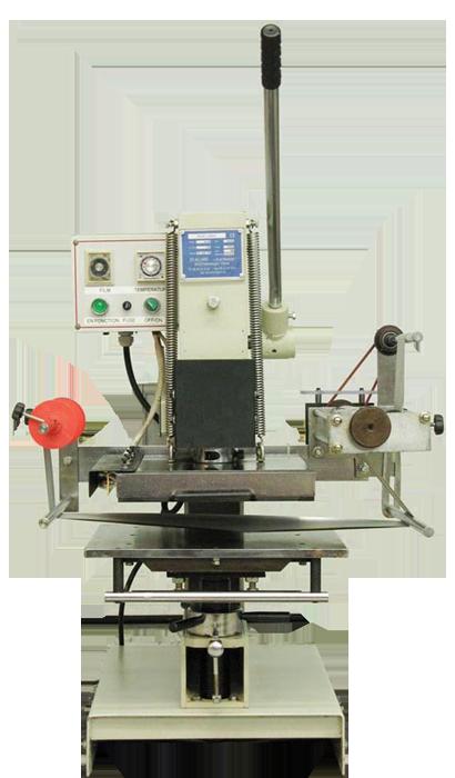 HG-UX1-180 : Presse à dorer, 100x180mm à balancier