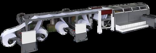 HSG-FTIA4 : Ligne de fabrication de ramettes, couteau rotatif, 4 dérouleurs