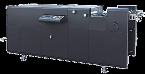 QG-AHT 620A : Vernisseuse auto pleine page 450x620mm, numérique et offs