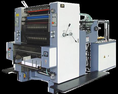 PG-PYR-660 : Presse offset Mono 660x480, mouillage standard