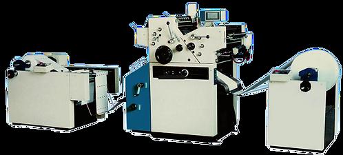 WI-OJX155-2-JJ : Presse offset 2 couleurs pour papier en rouleau, laize : 381