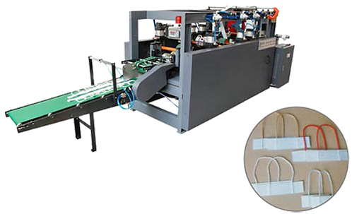 NJG-KEGX100 : Machine pour fabrication de poignée de sac de shopping