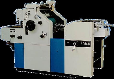 WI-OJX-450 : Presse offset Mono 34x45