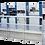 Thumbnail: CS-1060 : Platine auto 102x72cm pour découpe, rainage, sans décorticage