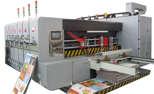 HL-MIA : Slotter Auto 4 couleurs,1650x2600mm, stacker, forme simple, marge auto