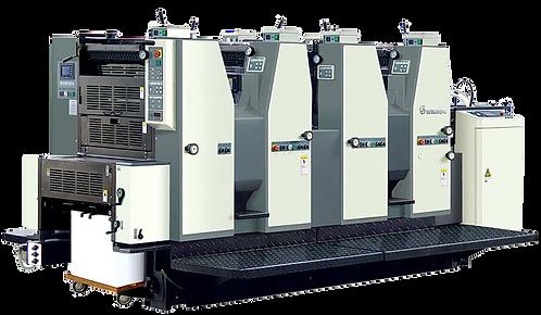 WI-OJX-564-AL : Presse offset 4 couleurs 56x39.5, 5 mouillages alcool
