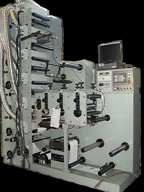 ZN-ZSM450 : Impression d'étiquettes, presse flexo, 6 couleurs