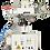 Thumbnail: HG-UX12A : Presse à dorer, 400x400mm, semi automatique