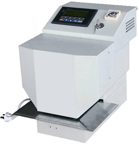 HG-UX33B : Presse à dorer, 38x70mm, cellule, télécommande, pression hydrauliq