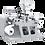 Thumbnail: LE-320G : Refendeuse de bobines d'étiquettes avec découpe mi-chair
