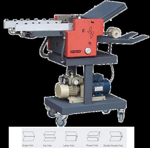 MI-G35 : plieuse 350x450mm/350x650mm, pli simple, z, roulé, parallèle (double)