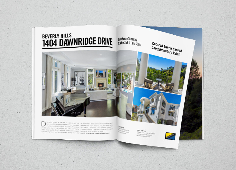 Two Page Property Ad