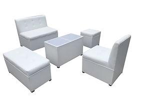 Salas lounge, renta de mobiliario para eventos en puebla