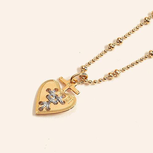 Amulette coeur