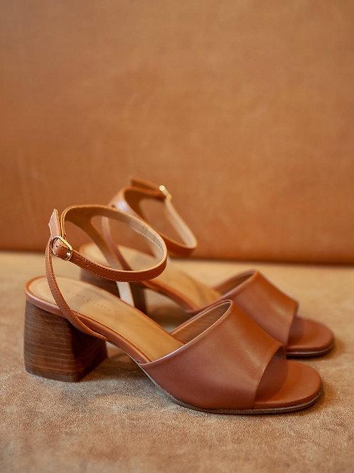 Sandales n°889 cognac