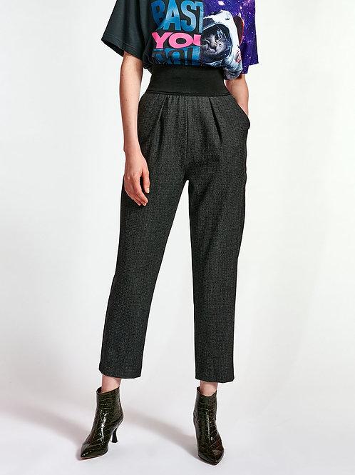 Pantalon fuselé noir