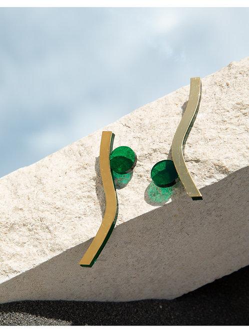 La paire de Cisé's verte