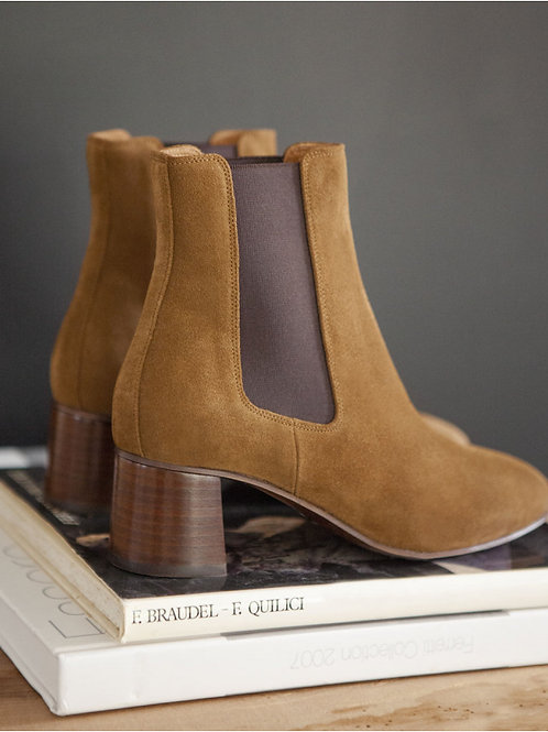 Bottines n°402 suède velours