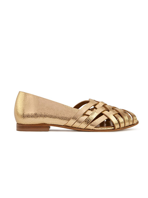 Sandales n°64 doré