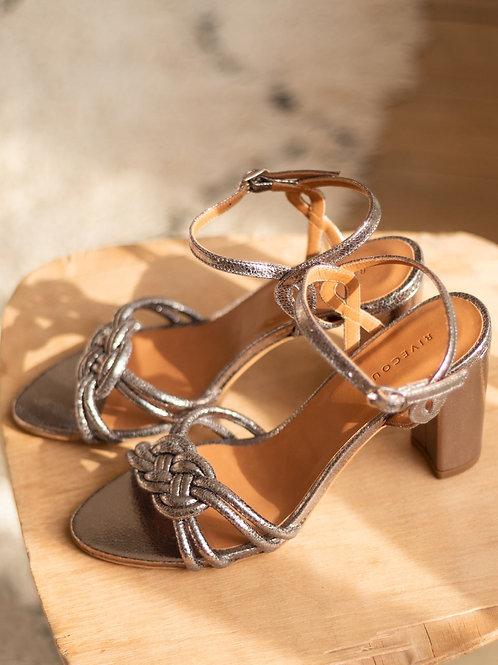 Sandales n°111 argent