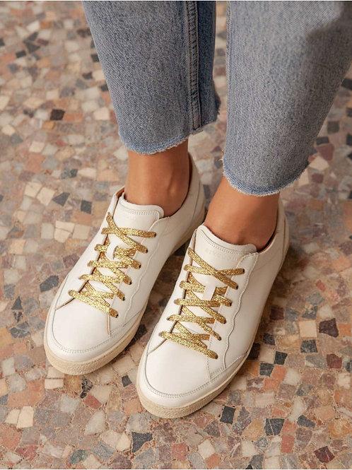 Basket Blanc / Gold