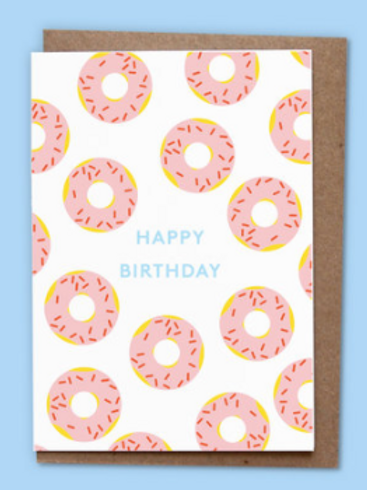 DONUTS BIRTHDAY