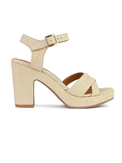 Sandales n°105 raffia