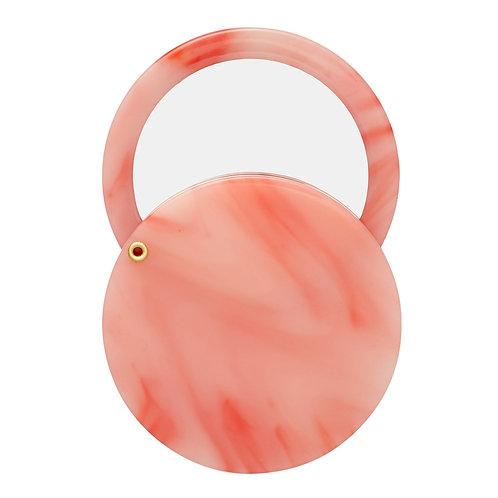 Miroir Circle Rose