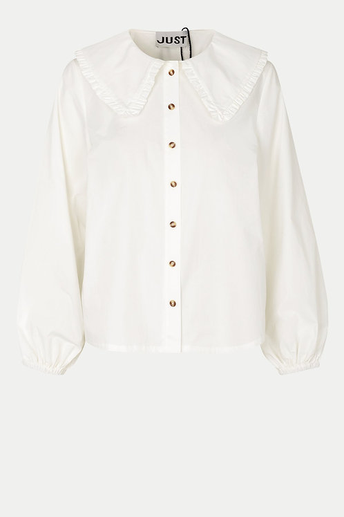 Chemise frill blanche