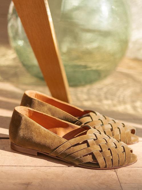 Sandales n°64 écorce