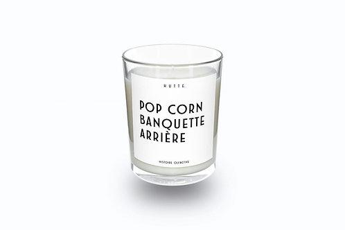 Bougie Pop corn banquette arrière