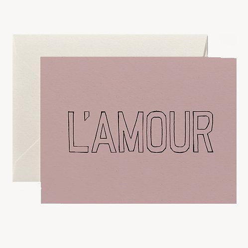 Carte L'amour