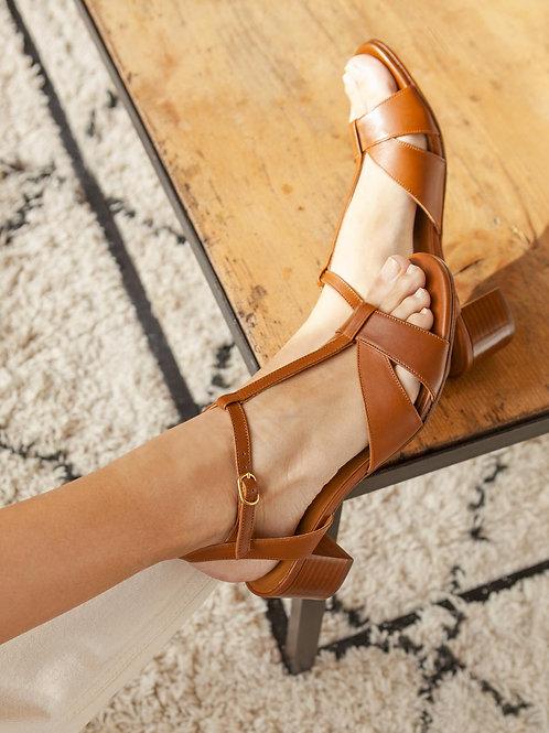 Sandales n°452 camel