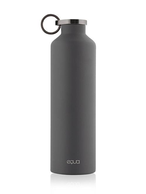 Aqua bottle inox noire gris
