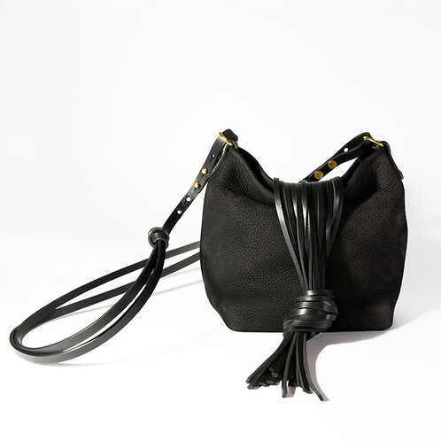 Sac Mina medium noir
