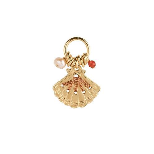 Amulette coquille blush