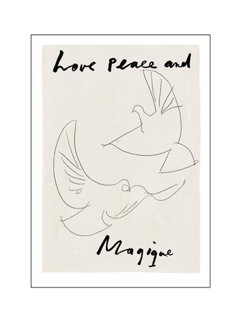 Love, peace and Magique