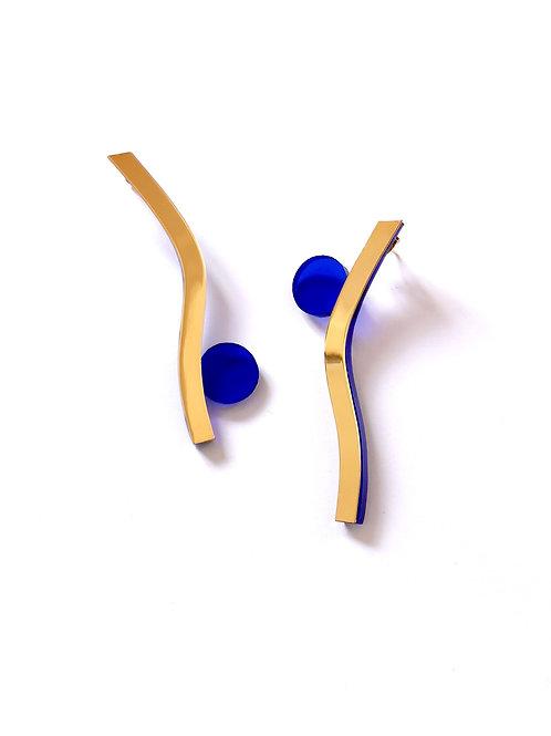 La paire de Cisé's bleue