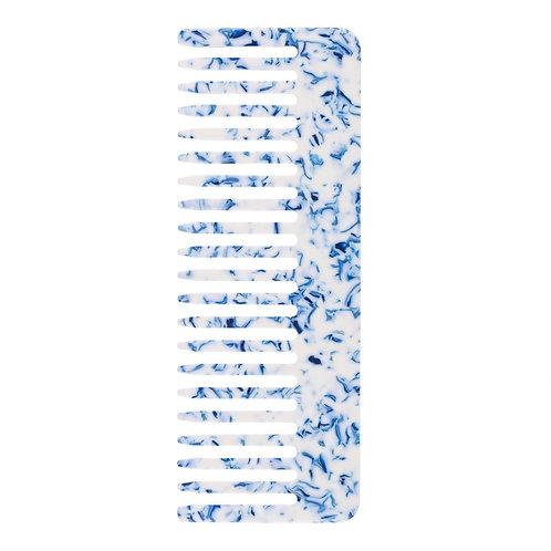 Peigne 2 Toile bleu