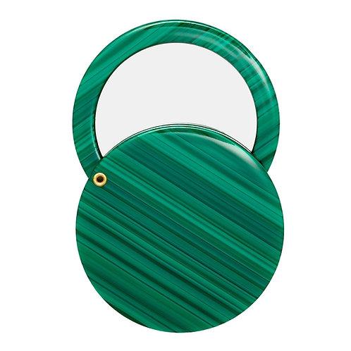 Miroir Circle vert
